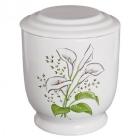 Kézzel festett kerámia urna - kála