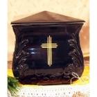 Keresztes négyszög urna