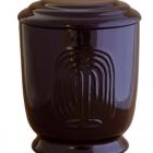41- Fűzfás kerámia urna - fekete