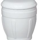 80 - Fehér kerámia urna