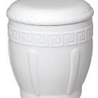 82 - Görög mintás kerámia urna