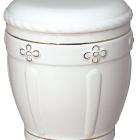 81a - fehér kerámia urna