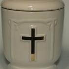 Claris - aranyozott keresztes urna