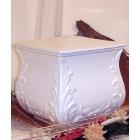 Négyszög fehér urna