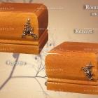 Róma Art urna - mogyoró