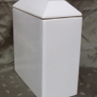 Dekor nélküli urna