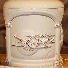 Kézi festett urna - opus naplemente