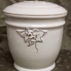 Ametisz fehér urna - borostyán
