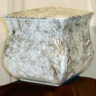 Márvány hatású urna - négyszögletes