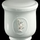 Fehér rózsás urna