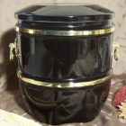 Bella urna - füles fekete