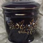 Ametisz fekete urna - rózsa