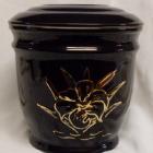 Ametisz fekete urna - liliom