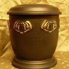 Matt urna - pille fekete