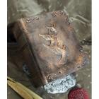 Galabos könyv urna - bronzos árnyalat