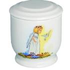Madárka angyallal - gyermek urna