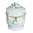 Virágos gyerek urna