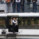 Hajós temetés - lélekharang