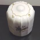 Hollóházi porcelán urna - rózsás