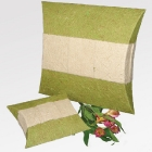 Világoszöld papír urna