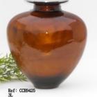 Barna fém urna