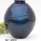 Kék fém urna