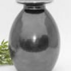 Szürke fém urna