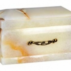 Világos onyx urna