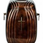 Kő kompozit urna kereszttel