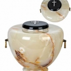 Öblös onyx urna - világos urna