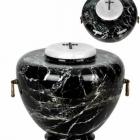 Fekete öblös onyx urna
