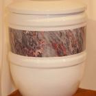 Bella urna - szürke pur-pur