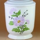 Kézzel festett urna - százszorszép
