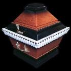 Urnakoporsó - csavart antik