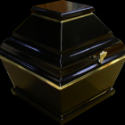 Urnakoporsó - fekete